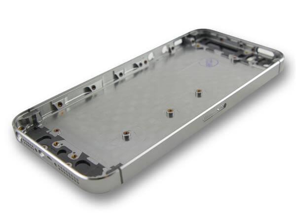iPhone 5S bagside cover / bagskærm-Sort
