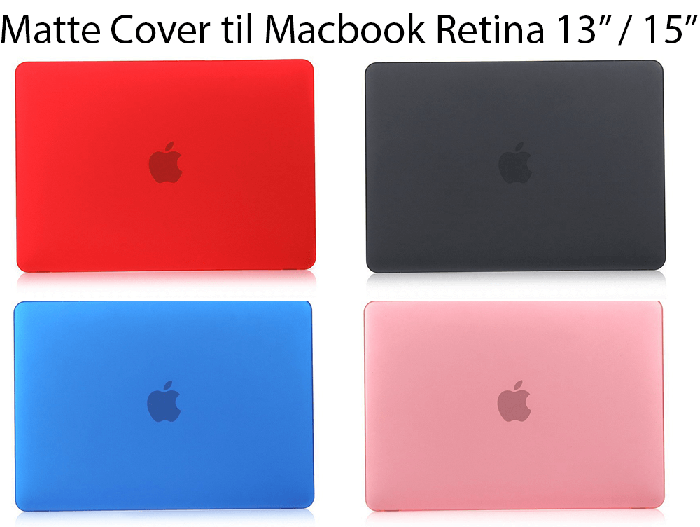 "Matte Cover til Macbook Pro Retina 13""/ 15"""