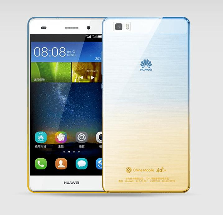 Milos Huawei P8 Silikone Cover-Blå