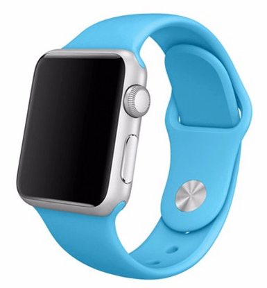 Sportsrem til Apple Watch-Blå-38 mm