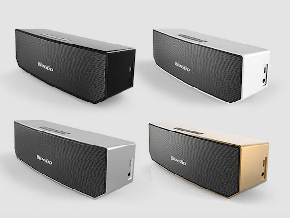 Bluedio Bluetooth 4.1 Trådløs Højtaler med 3D Lyd & Surround