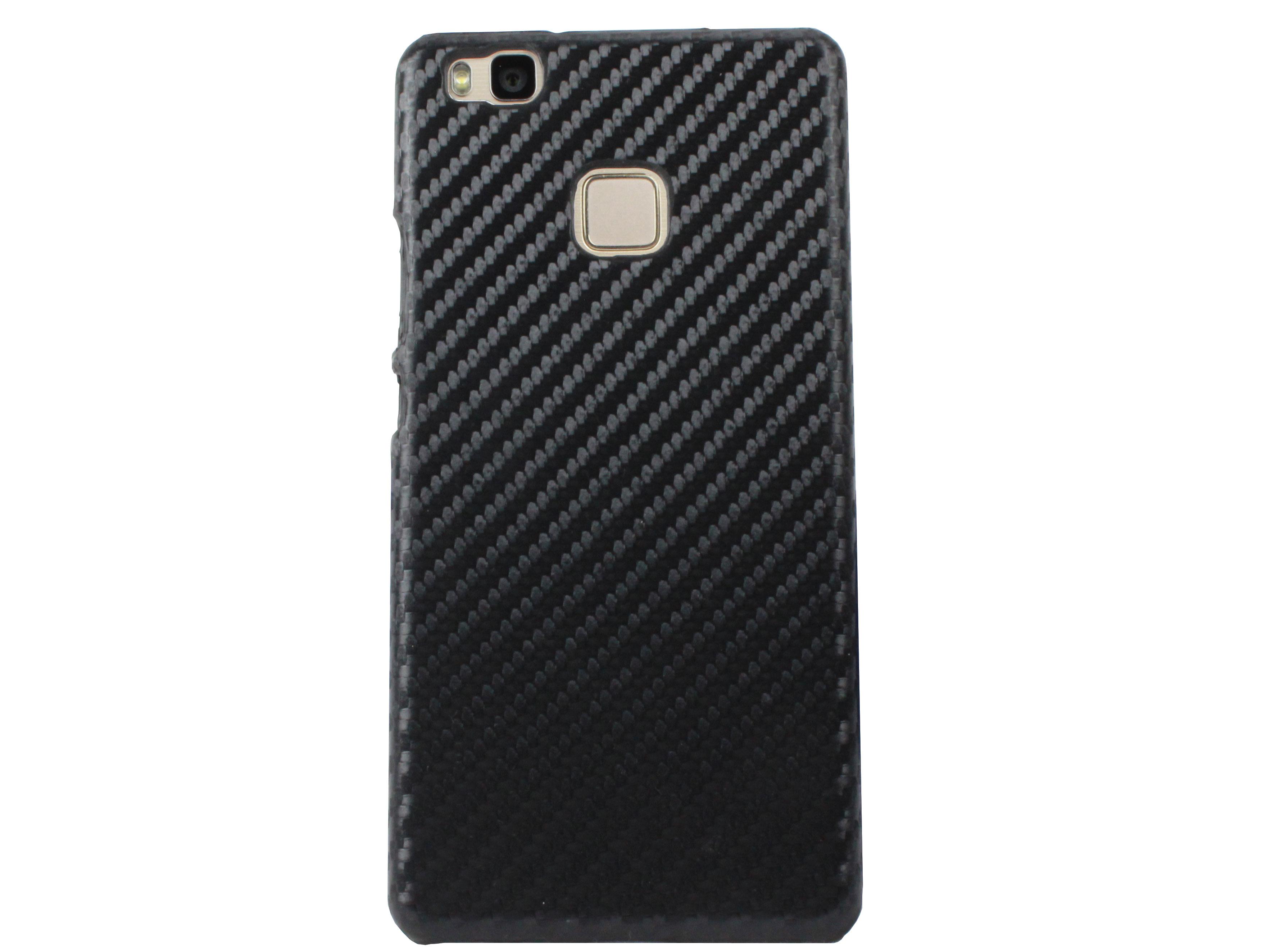 Kasseri Huawei P9 Lite Cover i carbon look