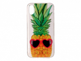 Ananas TPU Cover til iPhone X og iPhone XS