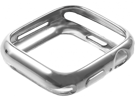 Metallisk TPU Cover til Apple Watch 4 / 5 44 mm