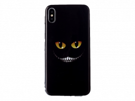 Cheshire TPU Cover til iPhone X / XS