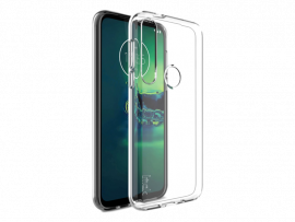 Transparent TPU Cover til Motorola Moto G8 Plus