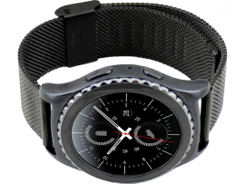 Portici rem i rustfrit stål til Samsung Gear S2 Classic / Sport / Galaxy Watch 42mm / Galaxy Watch Active