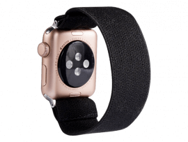 Strækbar Nylon rem til Apple Watch 6 40 mm