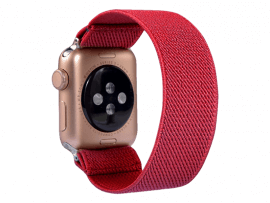 Strækbar Nylon rem til Apple Watch 1 - 38mm