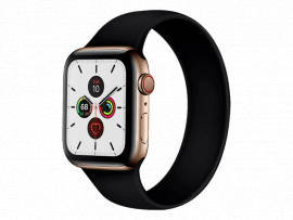Silikone Rem til Apple Watch 3 42 mm i Solo Loop design - str. M