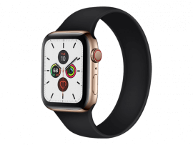 Silikone Rem til Apple Watch 3 42 mm i Solo Loop design - str. L