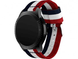 Catania rem i nylon til Samsung Gear S3 / Galaxy Watch 46mm
