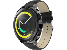 Croco Rem til Huawei Watch GT 2 42mm-Sort