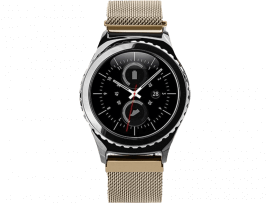 Cuneo rem til Samsung Galaxy Watch Active 2 40/44mm-Champagne