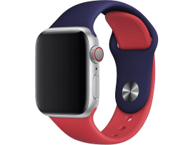 Tofarvet Siliconerem til Apple Watch 1/2/3/4/5 42mm & 44mm