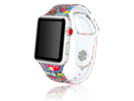 Artigas rem i Silikone til Apple Watch 3 - 38mm