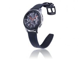 Carbon Fiber rem til Samsung Gear S3 / Galaxy Watch 46 mm