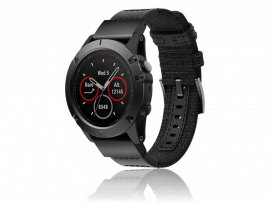 Canvas rem til Garmin Fenix 3 / 3 HR / 5X / 5X Plus / 6X / 6X Pro