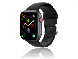 Diamond Silicone rem til Apple Watch Series 1 / 2 / 3 / 4 / 5 - 42 / 44mm