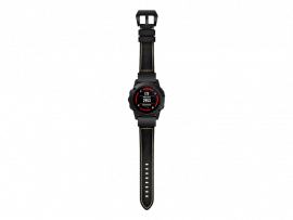 Genuine Læder rem til Garmin Fenix 5 / 5 Plus / 6 / 6 Pro / Chronos
