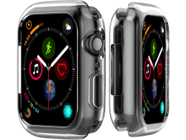 Transparent Silicone Cover til Apple Watch 4 / 5