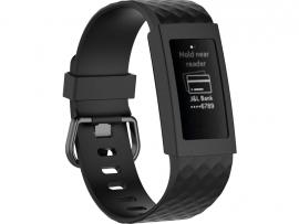 Silicone Cover til Fitbit Charge 3 / 4