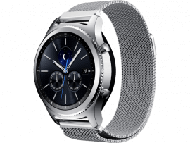 Cuneo rem i rustfrit stål til Samsung Gear S3 / Galaxy Watch 46mm