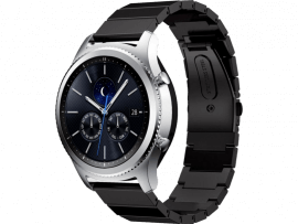 Arezzo rem i rustfrit stål til Samsung Gear S3 / Galaxy Watch 46mm