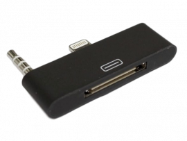 iPhone 4 til iPhone 5 adapter m/lyd