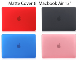 "Matte Cover til Macbook Air 13"" (A1369 / A1466)"