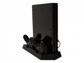 Vertical charging stand til PS4