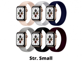 Silikone Rem til Apple Watch 2 38 mm i Solo Loop design - str. S