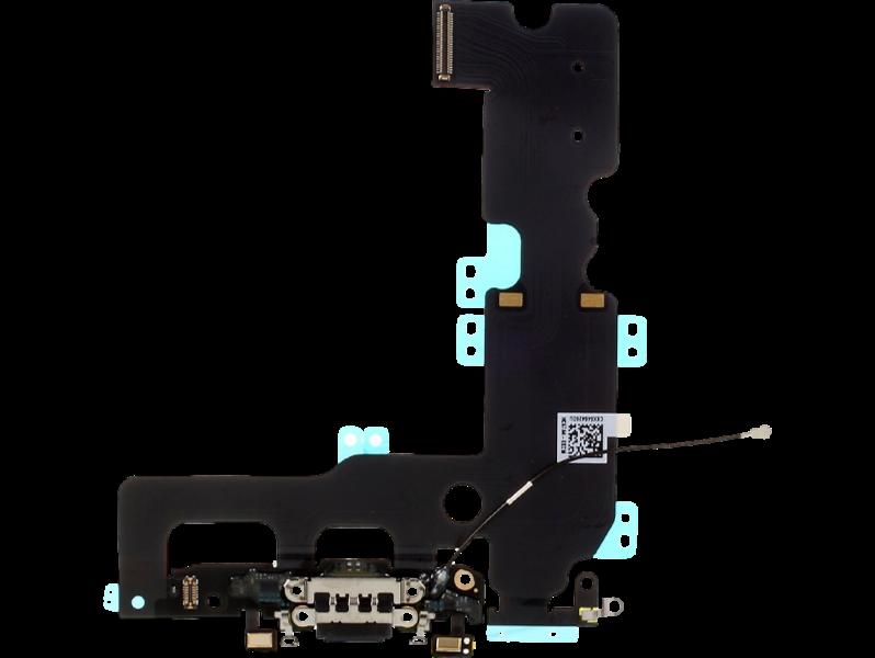 Image of   Hovedtelefon- og opladerindgang + mikrofon til iPhone 7 Plus