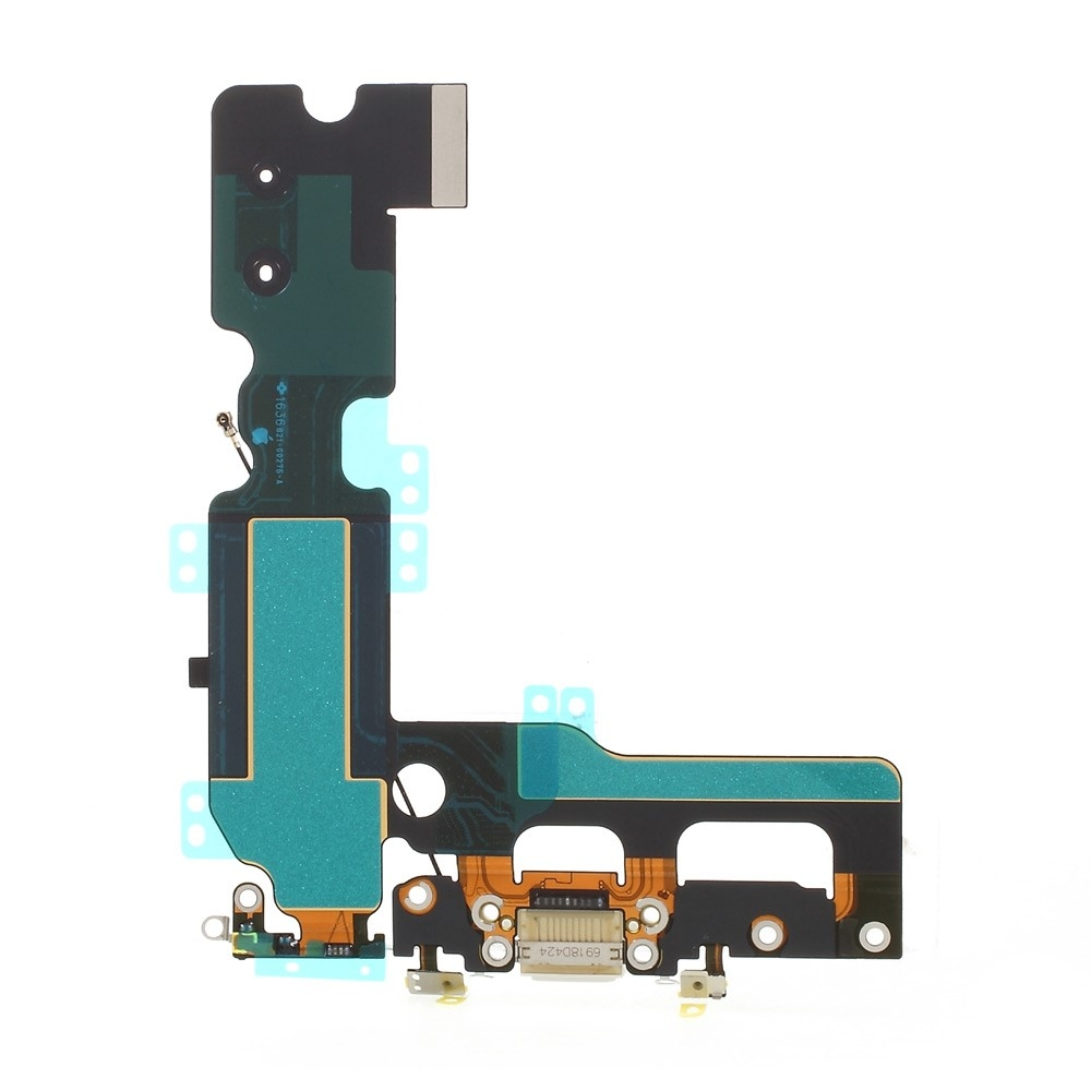 Image of   Hovedtelefon- og opladerindgang + mikrofon til iPhone 7 Plus-Hvid