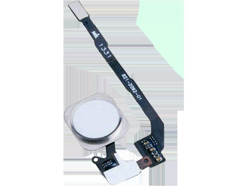 Image of   Hjemknap med kabel til iPhone SE-Hvid