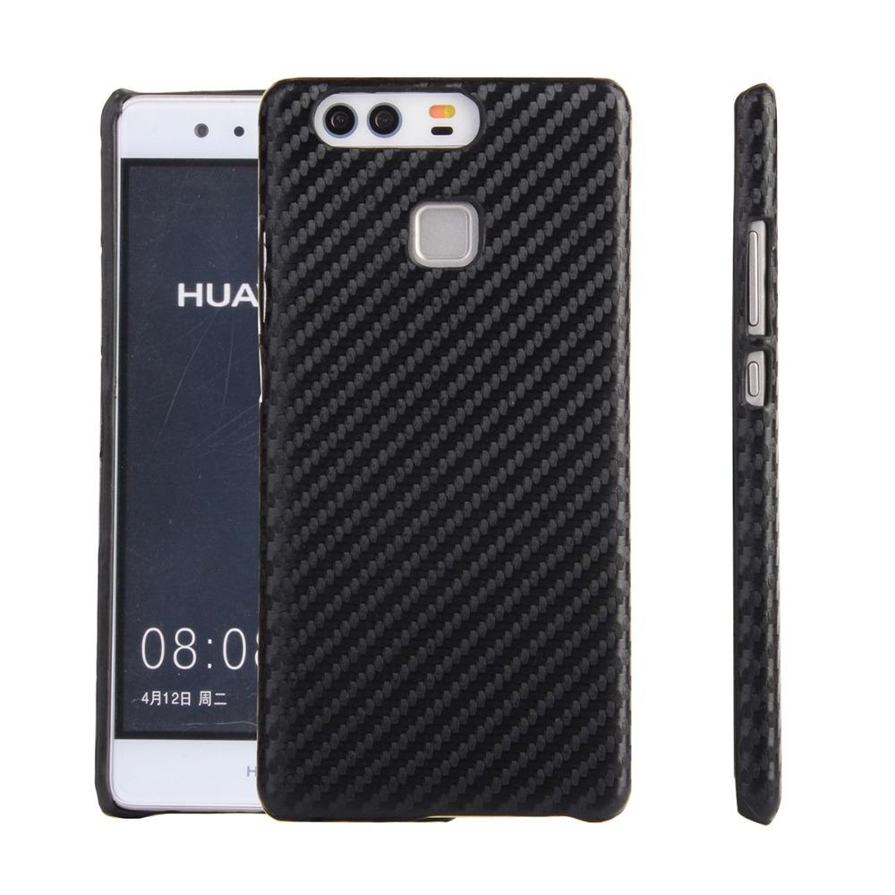 Kasseri Huawei P9 Cover i Carbon look