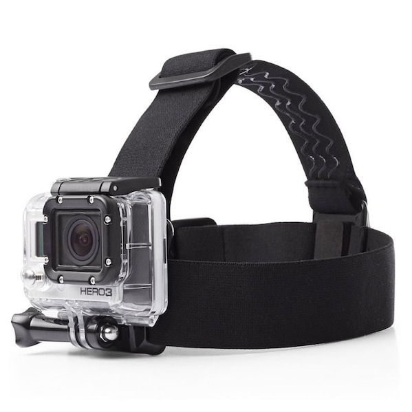 Image of   Head Strap Mount til GoPro 4 / 3 / 2