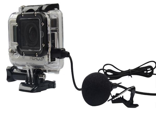 Image of   Ekstern mikrofon til GoPro Hero 3 / 3+ / 4
