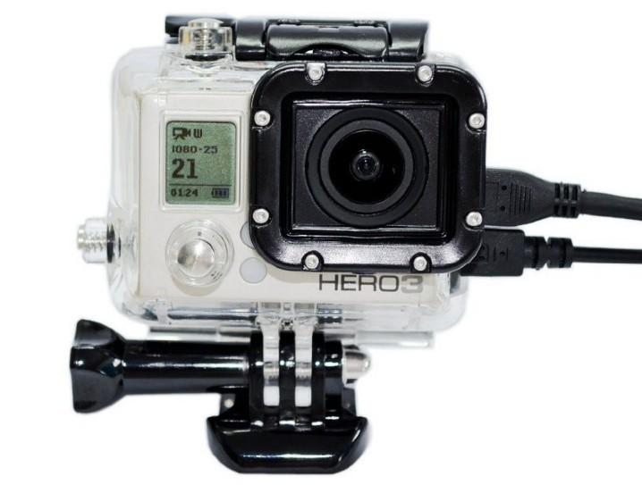 Image of   Skeleton Housing til GoPro Hero 3+ / 3 / 4