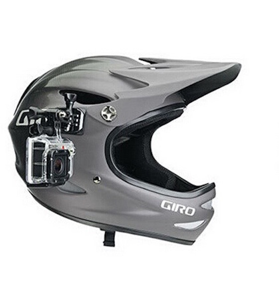 Image of   Helmet Side Mount til GoPro 4/ 3/ 2 - Til Cykel & Full Face Hjelm