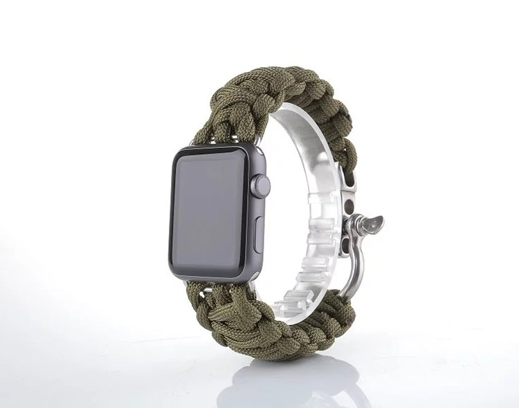 Image of   Sanya rem til Apple Watch-Grøn-42 mm