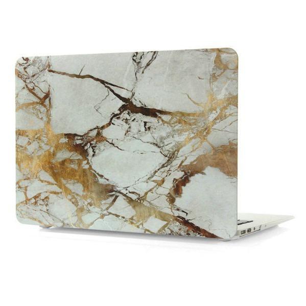 Image of   Marmor cover til Macbook 12 -Guld-12