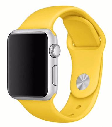 Sportsrem til Apple Watch-Gul-42 mm