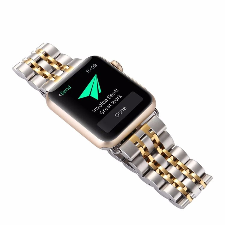 Ariel rem til Apple Watch-Guld-38 mm