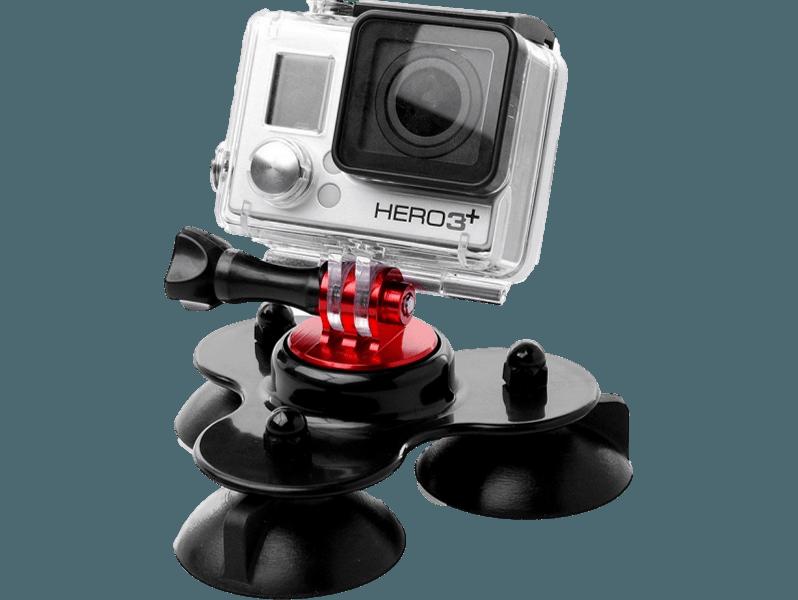 Image of   3 benet Sugekop mount til GoPro