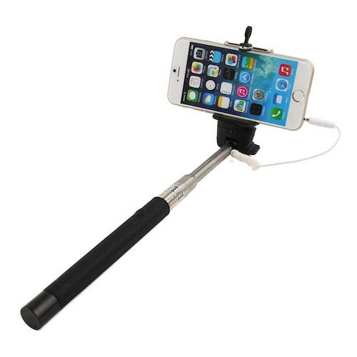 Image of   Selfie Stang / Selfie Stick med indbygget udløser