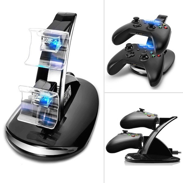 Dual Oplader Controller Stand til Xbox ONE