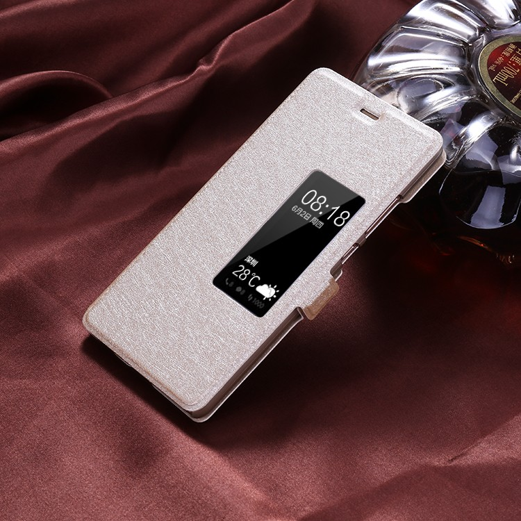 Halloumi Huawei P9 Flip Cover-Champagne