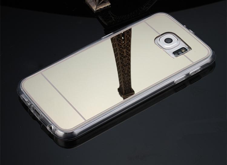 Pontos tpu cover til Samsung Galaxy S6-Guld