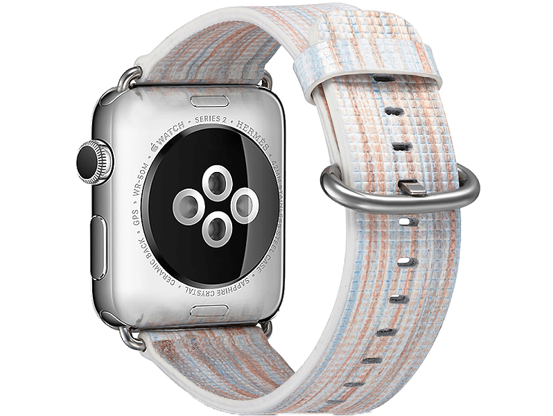 Image of   Agra rem til Apple Watch 1 / 2 / 3 / 4/ 5-Hvid-42/44 mm